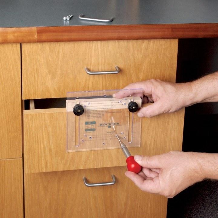 door knob installation template photo - 18