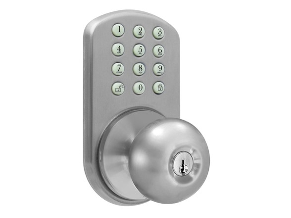 door knob keypad photo - 13