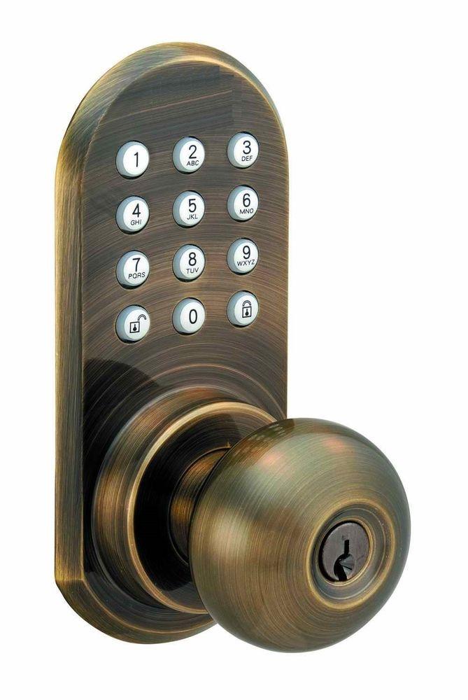 door knob keypad photo - 6