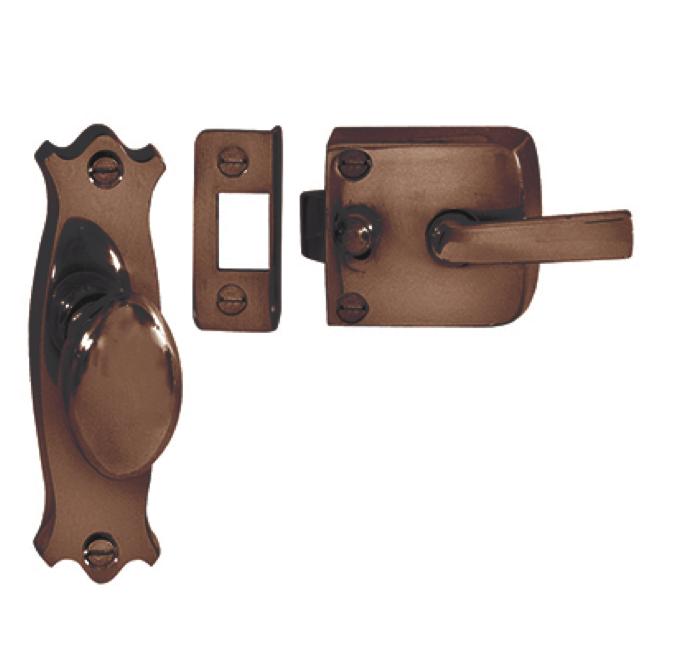 door knob latch assembly photo - 14