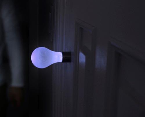 door knob light photo - 1