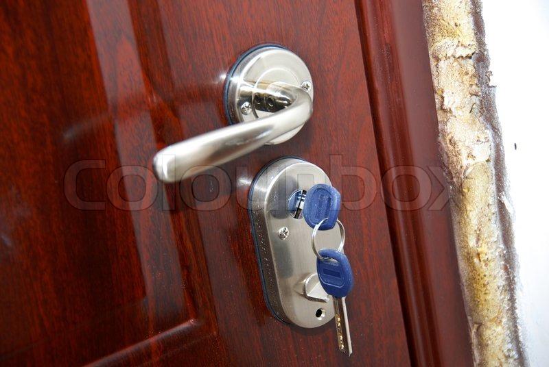 door knob lock box photo - 15