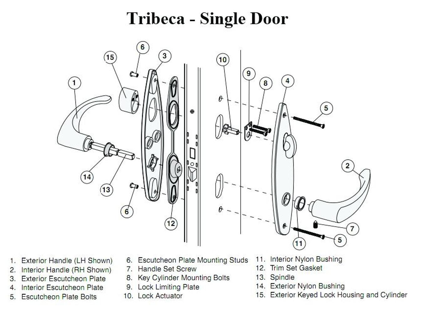 door knob lock mechanism photo - 14