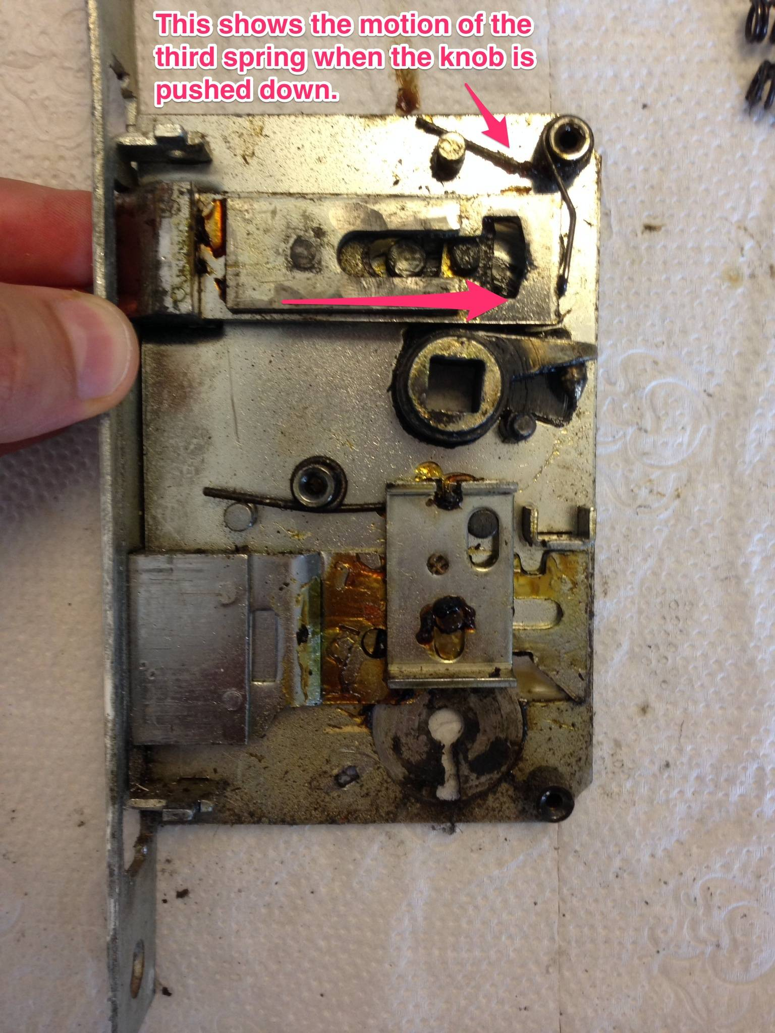 door knob lock repair photo - 17