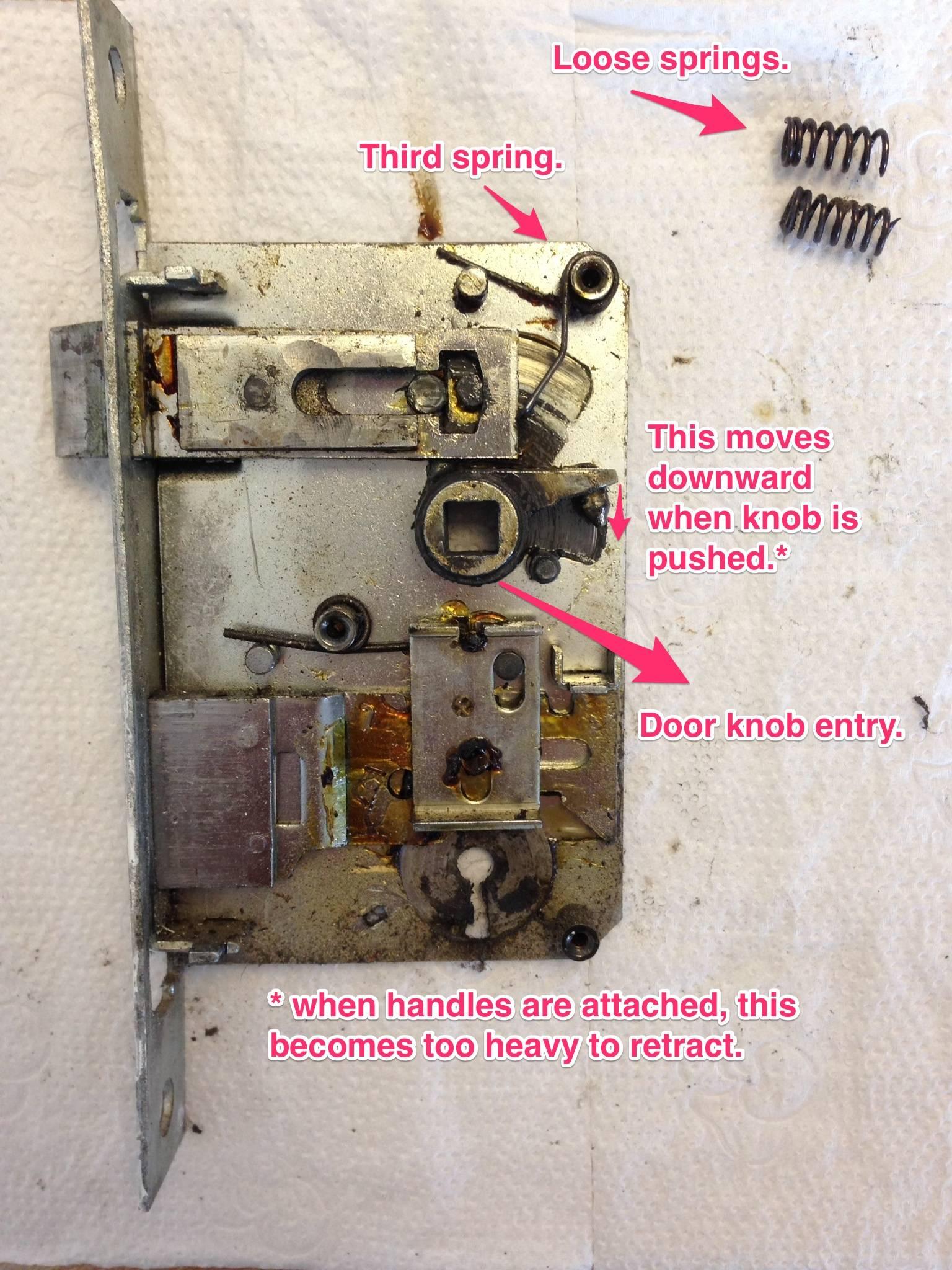door knob lock repair photo - 2