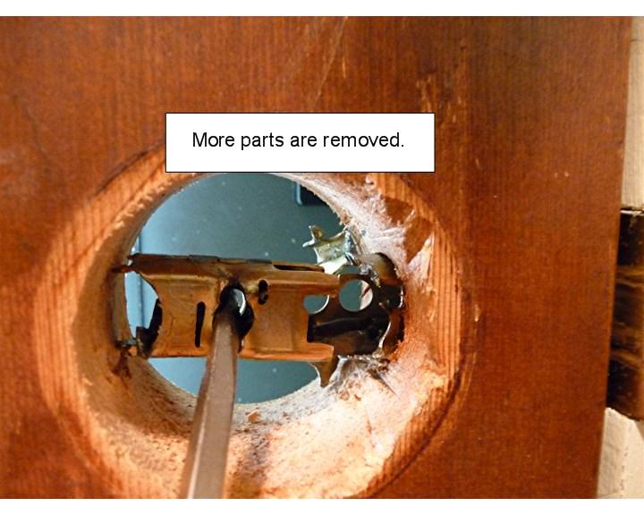 door knob lock stuck photo - 4