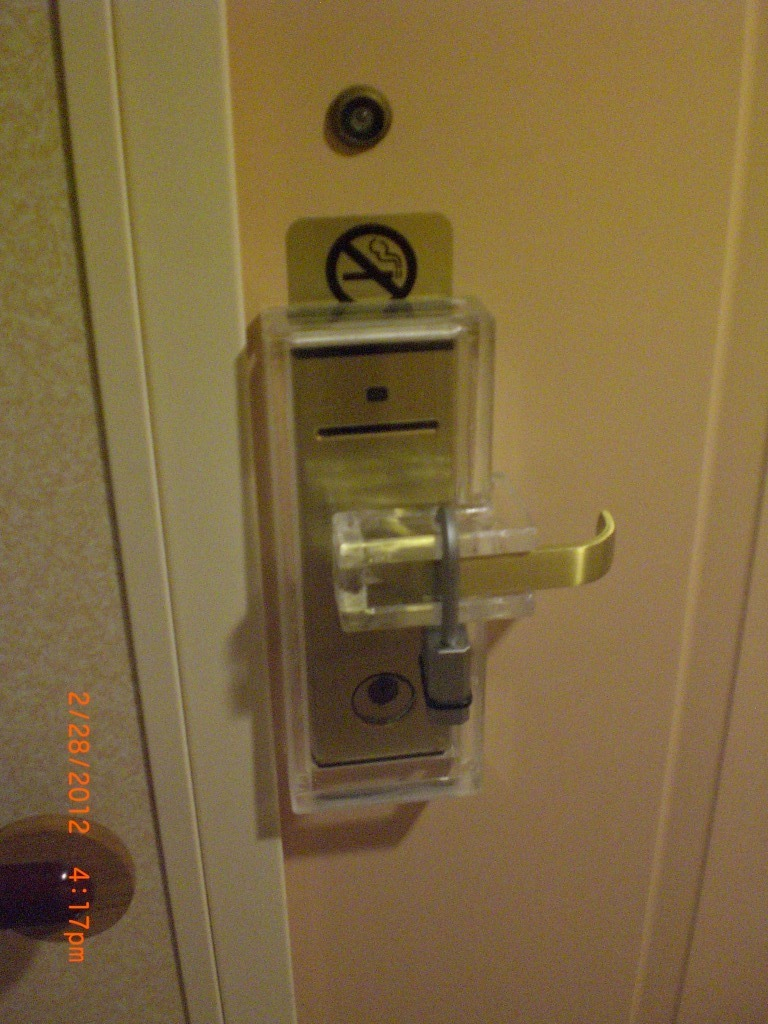 door knob lockout device photo - 18