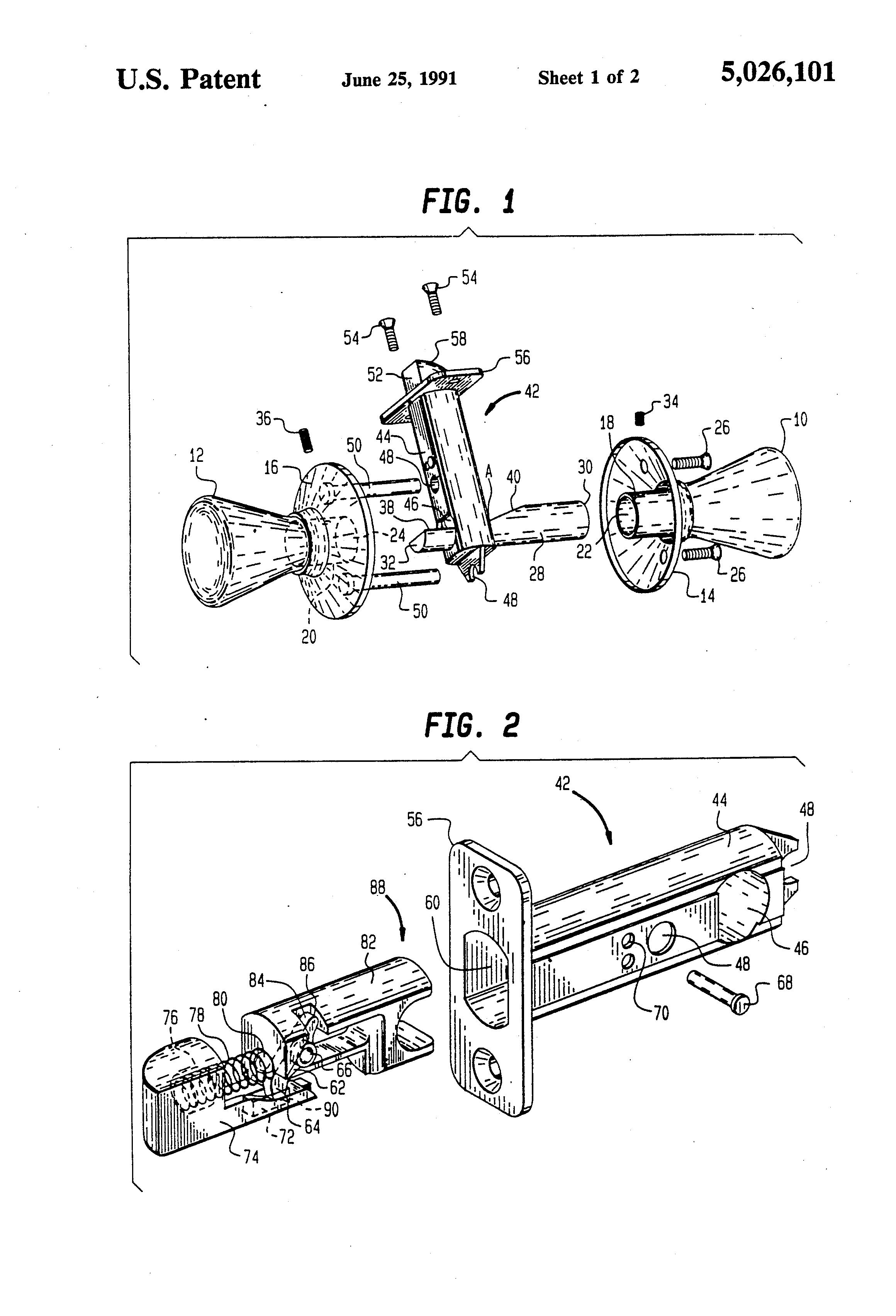 door knob mechanism photo - 4