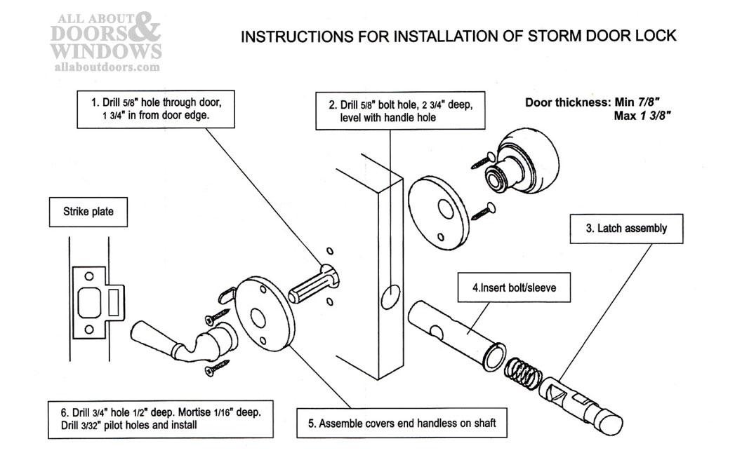 door knob parts diagram photo - 14