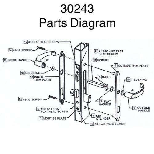 door knob parts diagram photo - 7