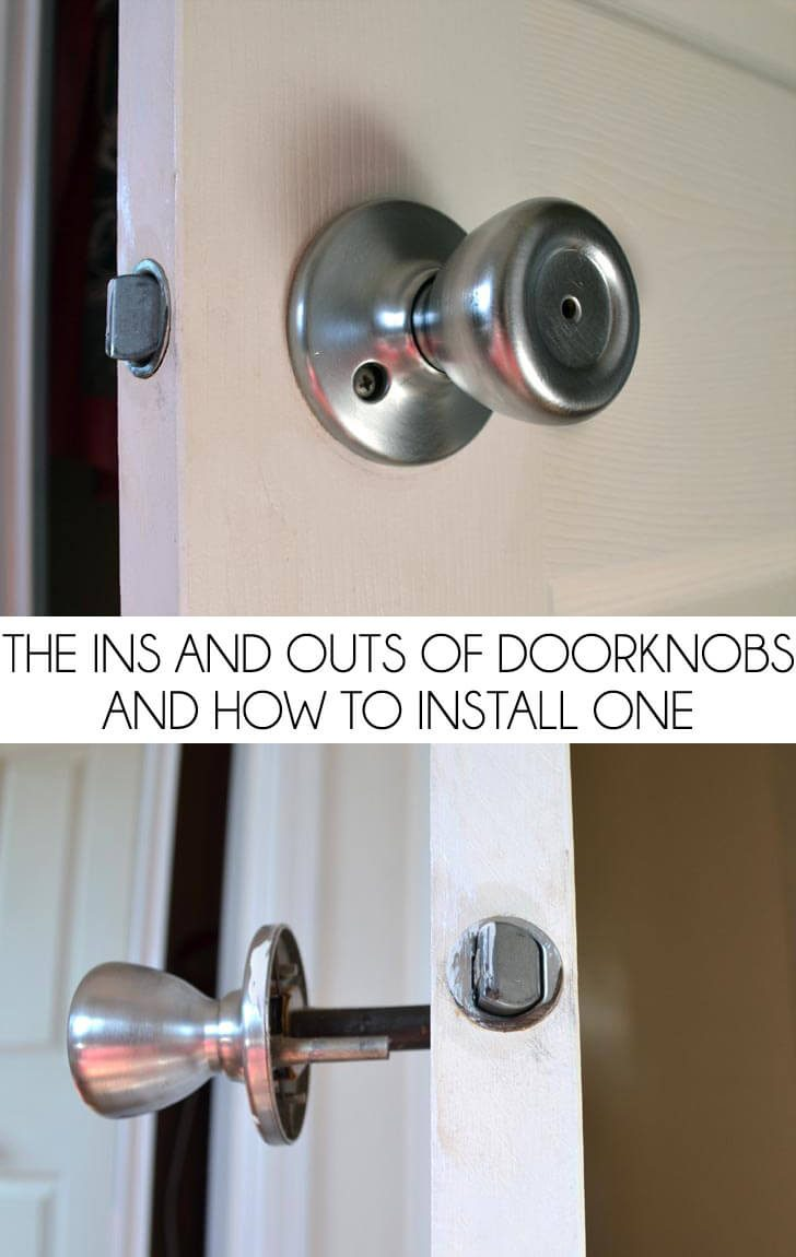 door knob removal photo - 12