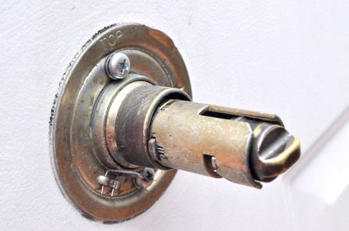 door knob removal photo - 5