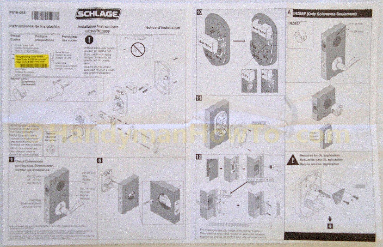 door knob repair instructions photo - 14