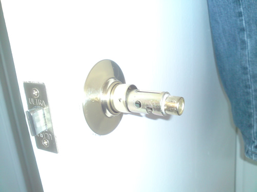 door knob replacement photo - 12