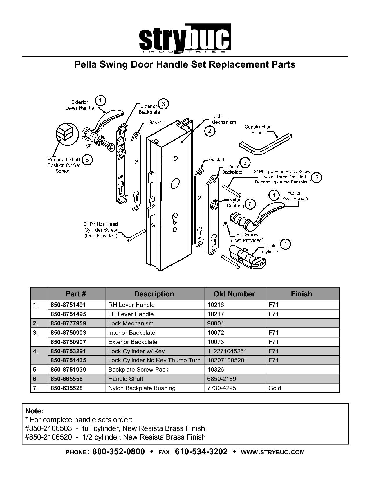 door knob replacement parts photo - 16