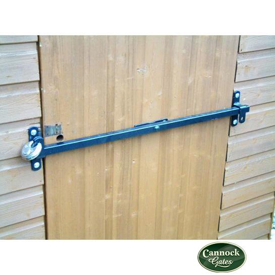 door knob security bar photo - 10