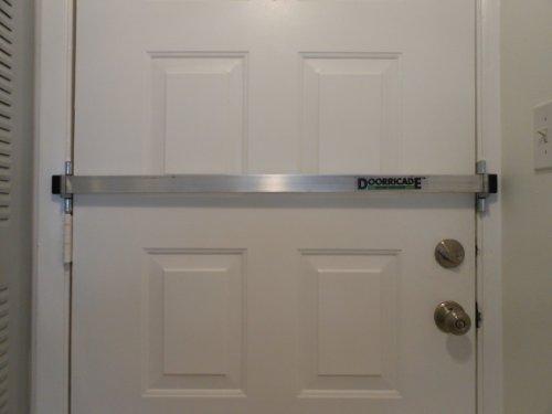 door knob security bar photo - 14