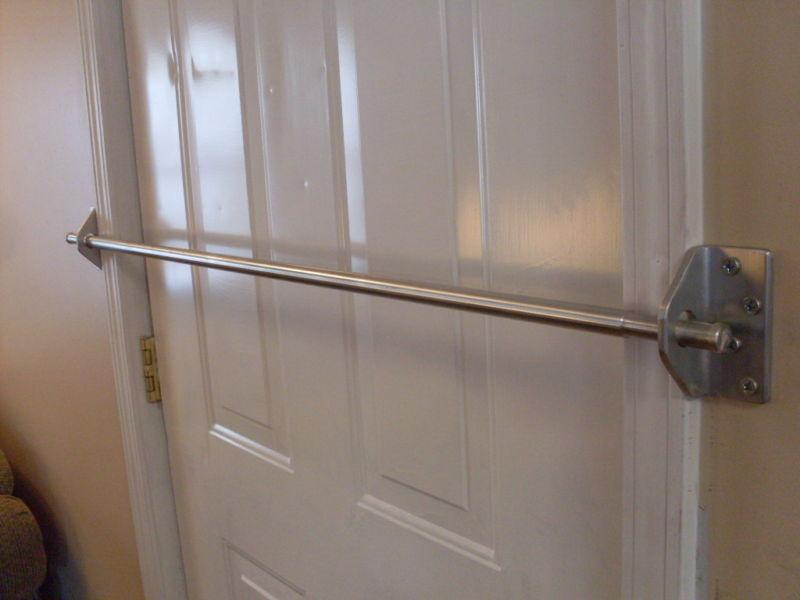 door knob security bar photo - 16