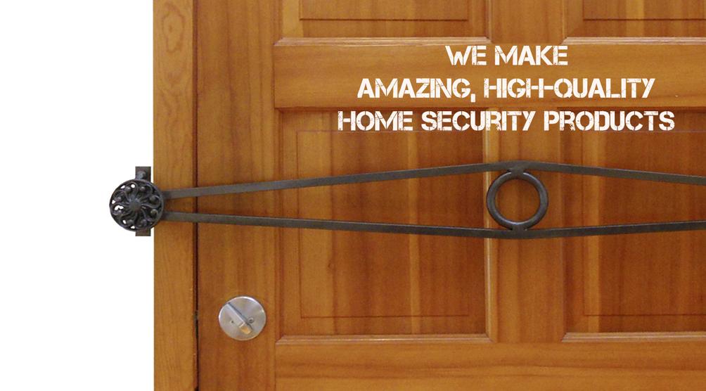 door knob security bar photo - 3