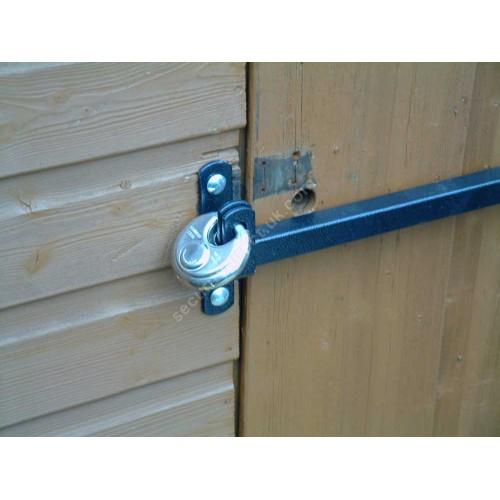 door knob security bar photo - 9