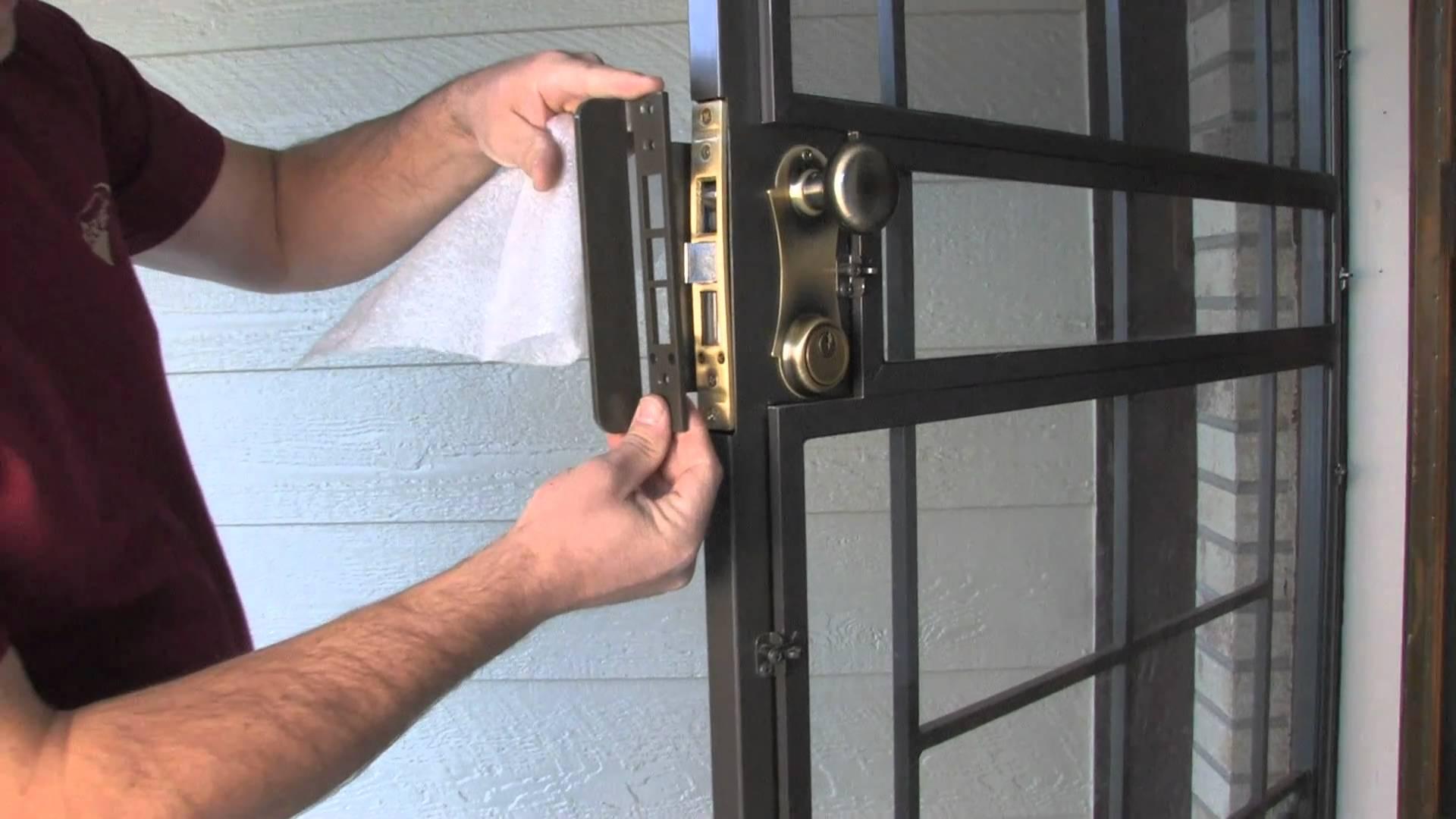 door knob security plate photo - 17