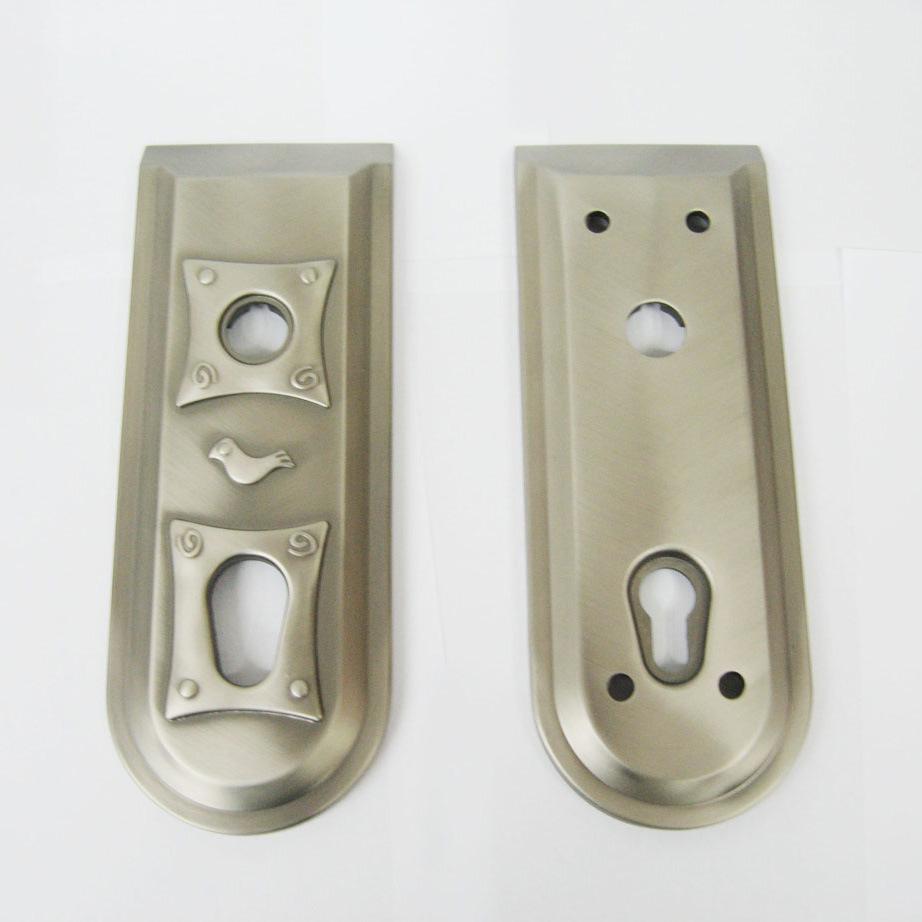 door knob security plate photo - 5