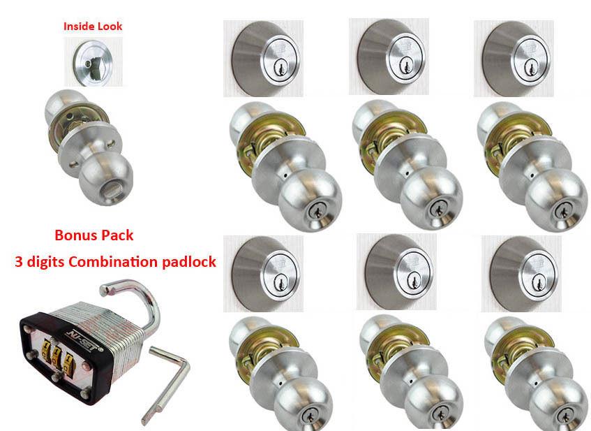 door knob sets keyed alike photo - 10
