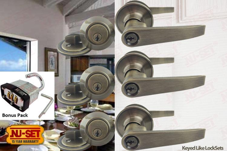 door knob sets keyed alike photo - 13
