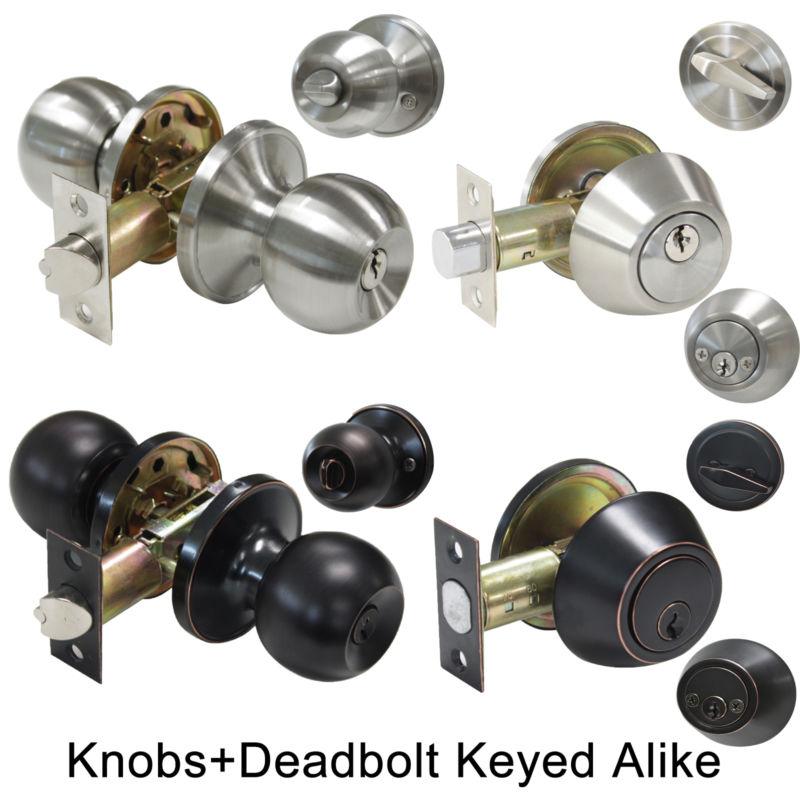 door knob sets keyed alike photo - 14
