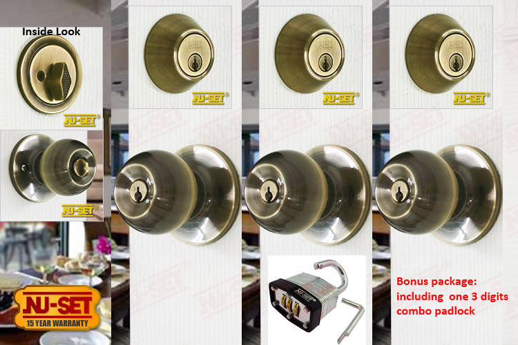 door knob sets keyed alike photo - 15