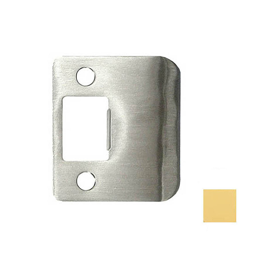 door knob strike plate photo - 12
