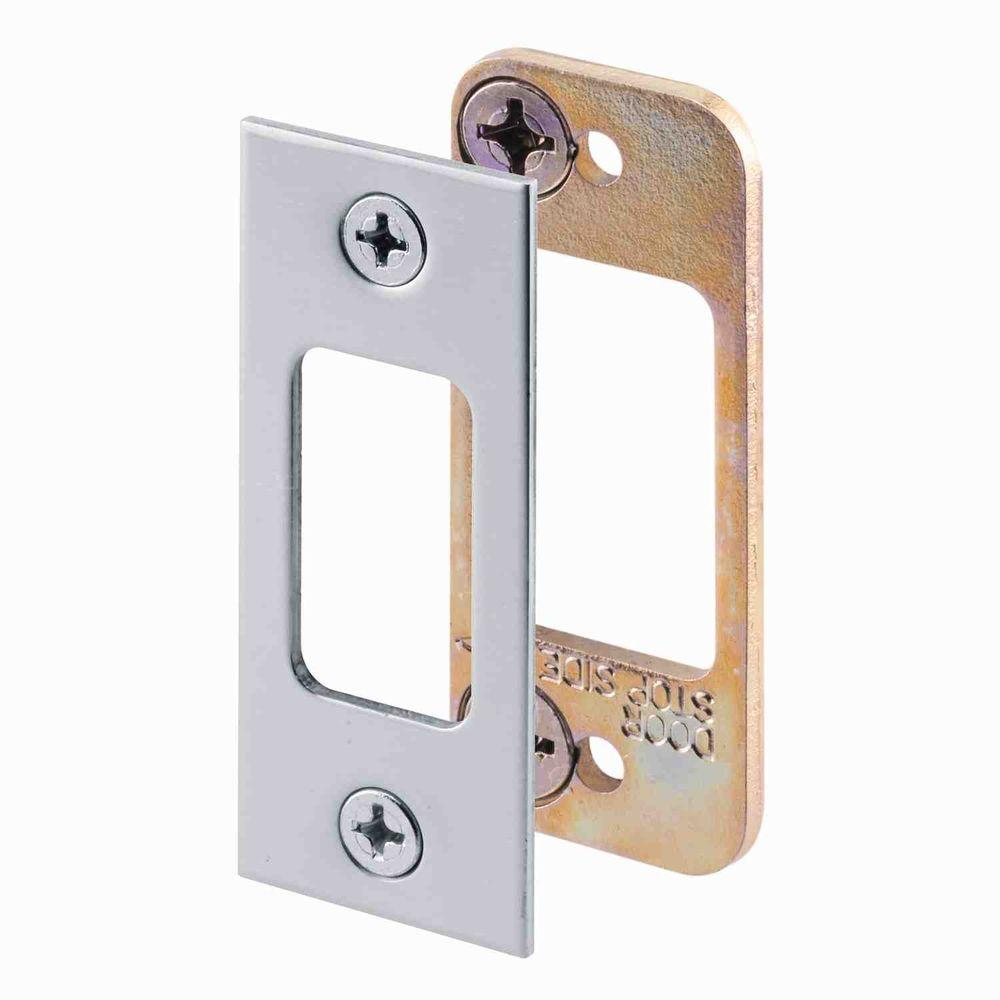 door knob strike plate photo - 4