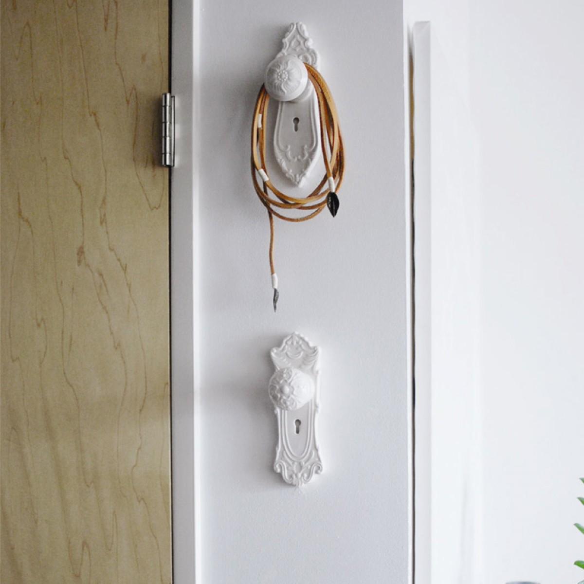 door knob wall hooks photo - 2