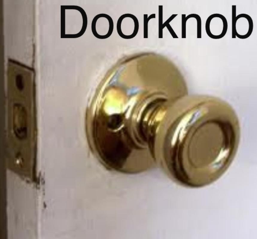 door knob wheel and axle photo - 5