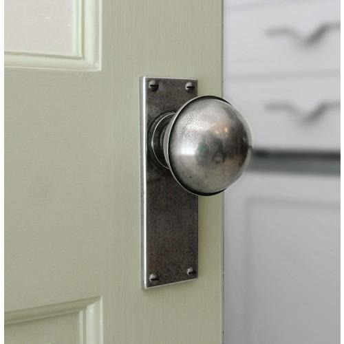 door knob with backplate photo - 10