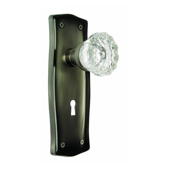 door knob with backplate photo - 11