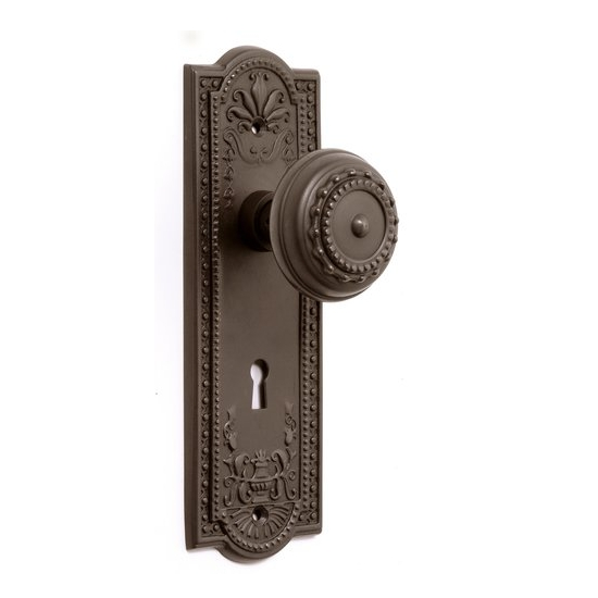 door knob with backplate photo - 20