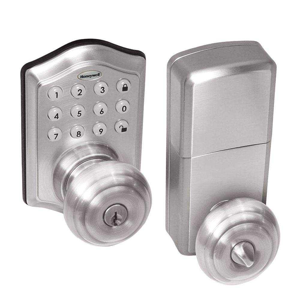 door knob with deadbolt built in photo - 15