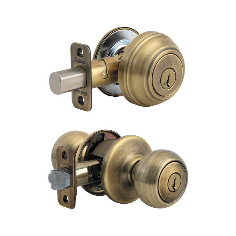 door knob with deadbolt built in photo - 16