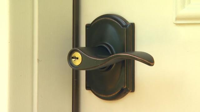 door knob with deadbolt built in photo - 18