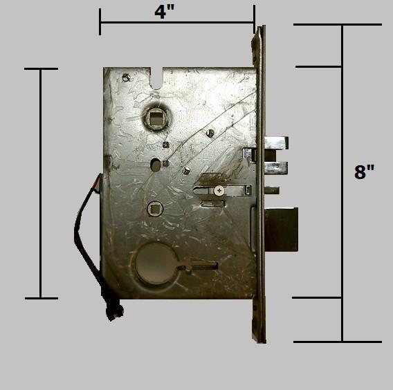 door knob with deadbolt built in photo - 19