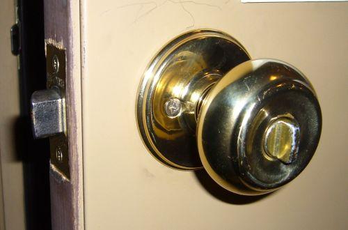 door knob with deadbolt built in photo - 3