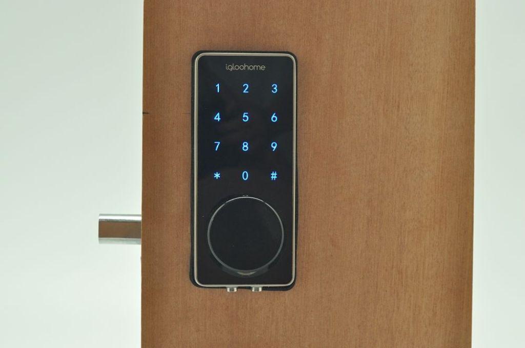 door knob with deadbolt built in photo - 5