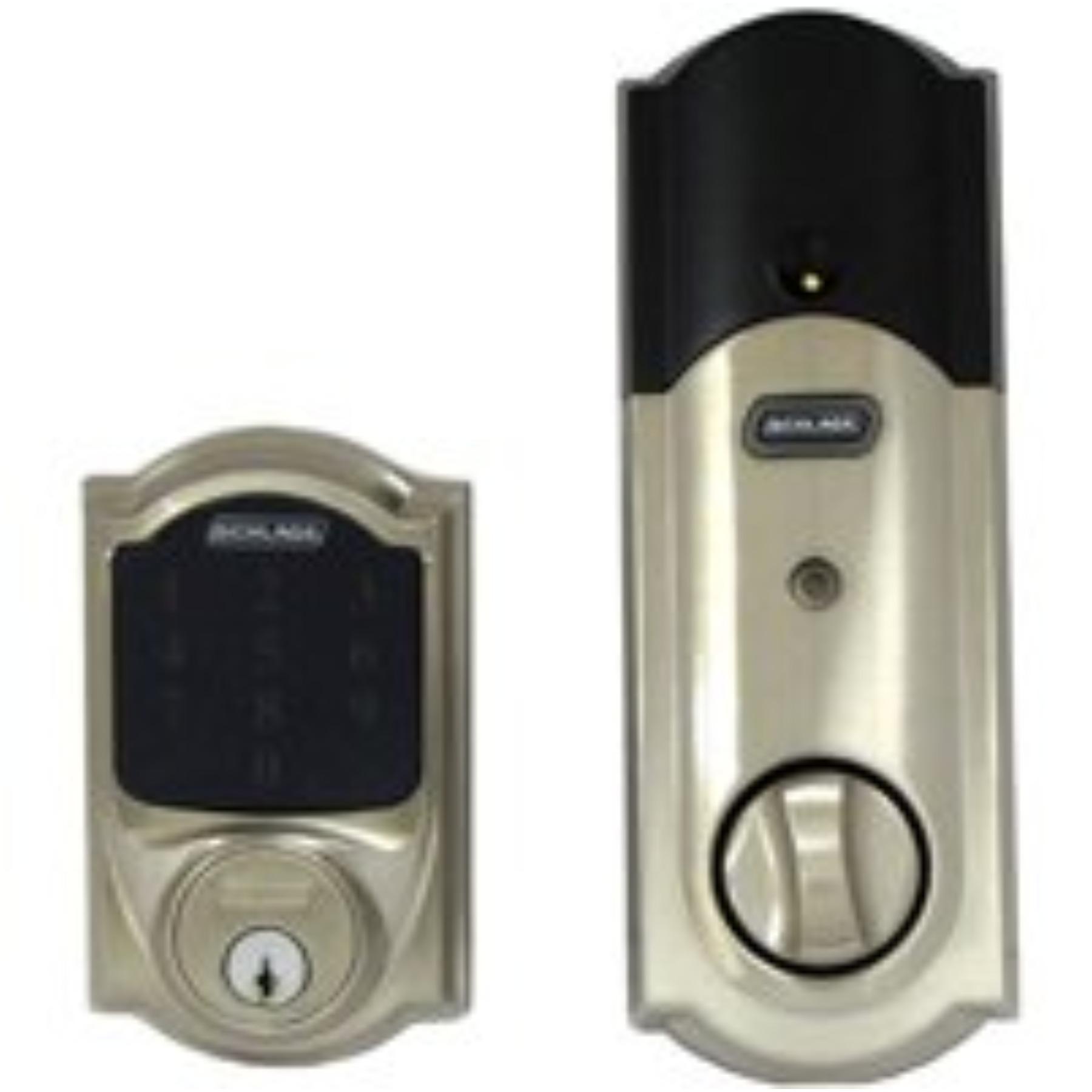 door knob with deadbolt built in photo - 9