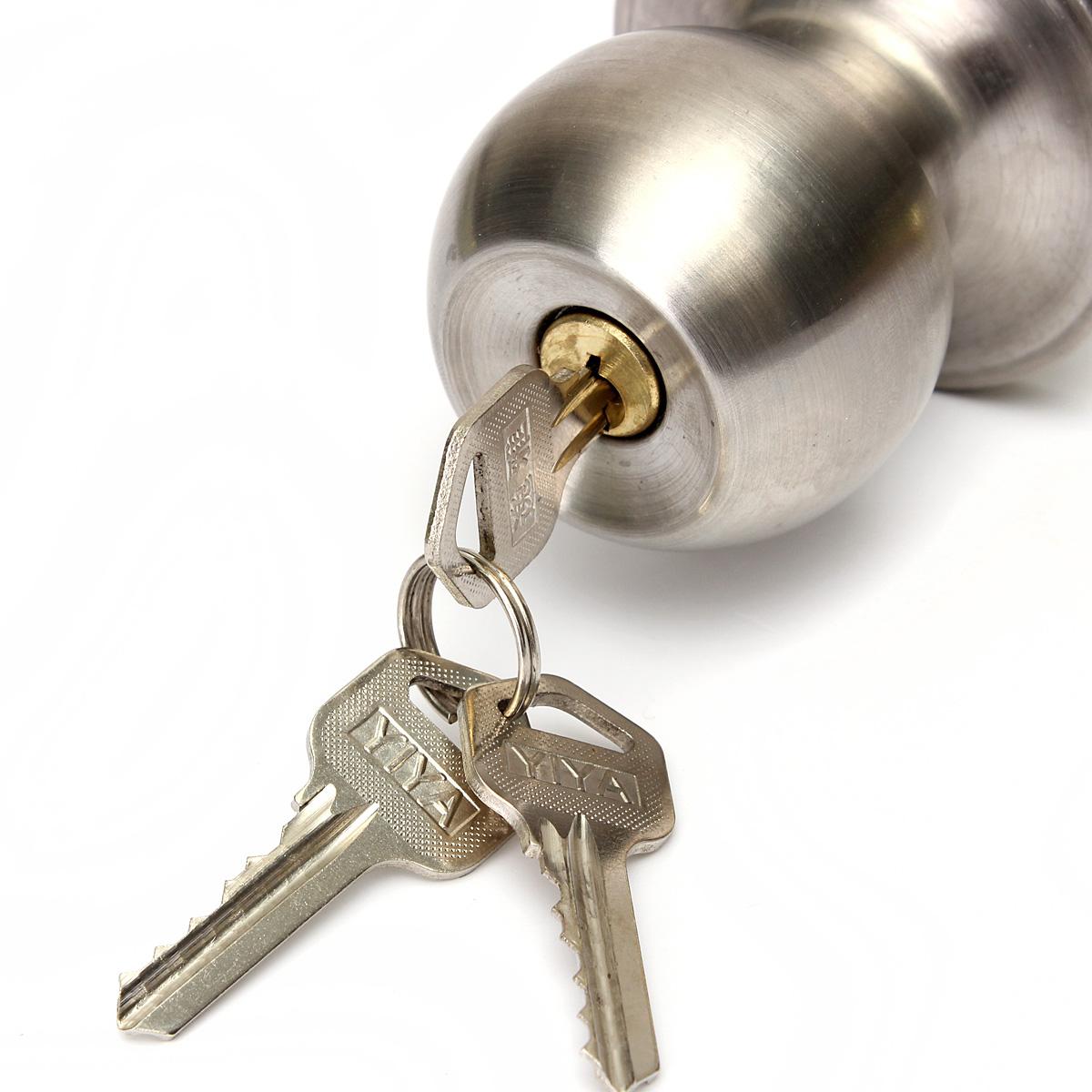 door knob with key lock photo - 20