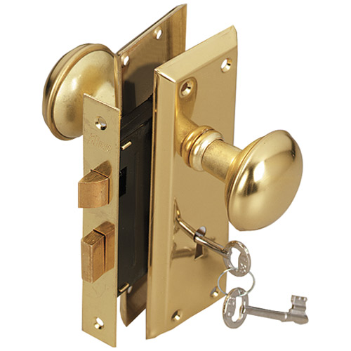 door knob with key lock photo - 9