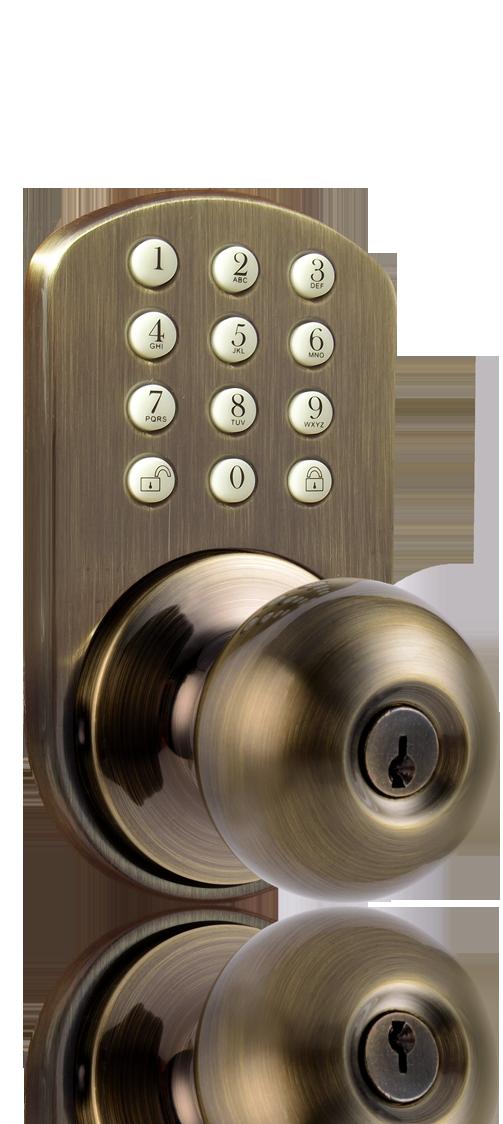 door knob with keypad photo - 10