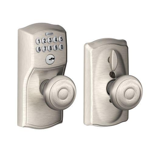 door knob with keypad photo - 15