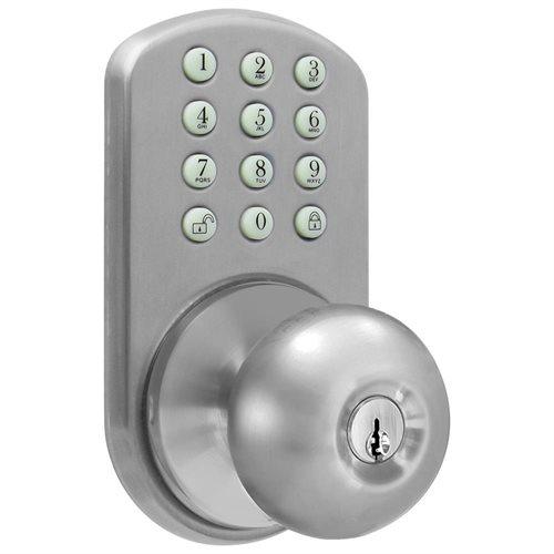 door knob with keypad photo - 17