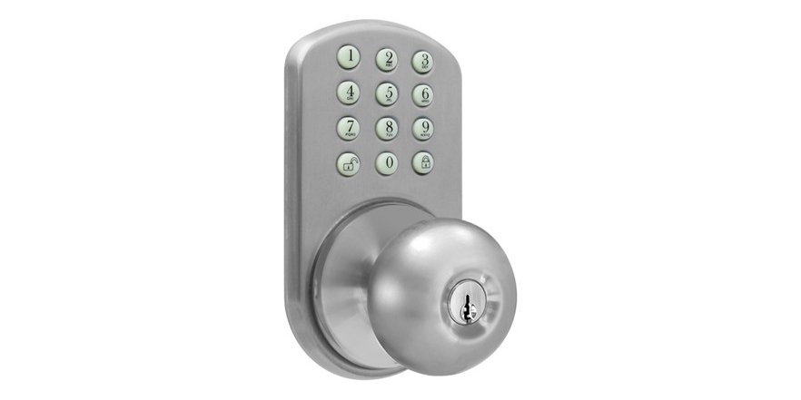 door knob with keypad photo - 19